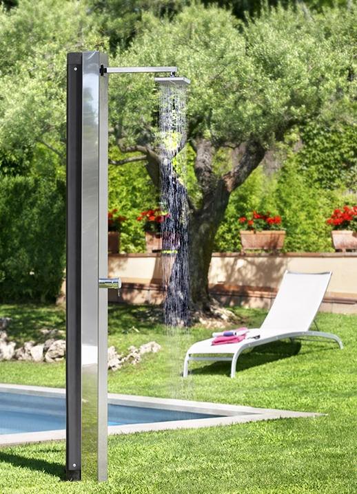 Ducha solar para la piscina piscinas code - Ducha solar piscina ...