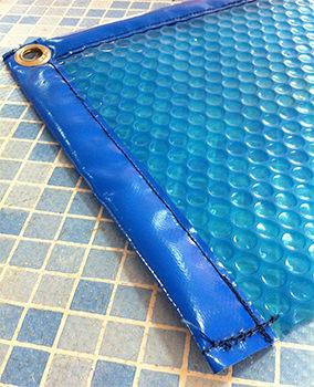 Cobertor o cubierta de burbujas para piscina piscinas code - Burbujas para piscinas ...