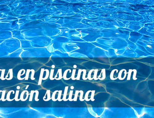 Algas en piscinas con cloración salina