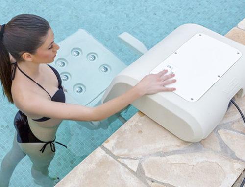 Sillón hidromasaje para piscina Water Spa Divan